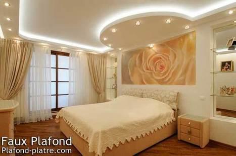 Faux plafond design avec un esprit novateur pou...