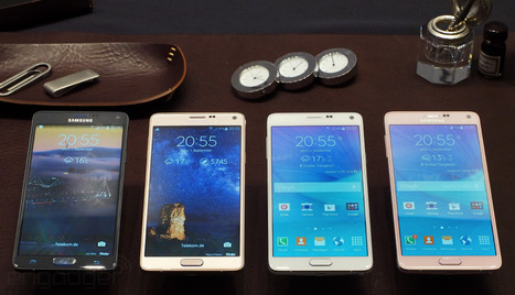 The Samsung Galaxy Note 4 looks and feels like a premium device (hands-on) | Nerd Vittles Daily Dump | Scoop.it