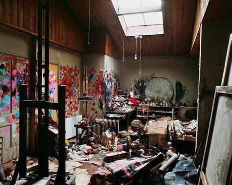 100 Famous Artists And Their Studios   16s3d: Bestioles, opinions & pétitions   Scoop.it
