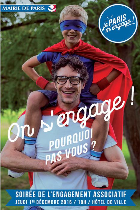 Paris, je m'engage : le bénévolat au cœur de l'engagement citoyen   Associations - ESS - Participation citoyenne   Scoop.it