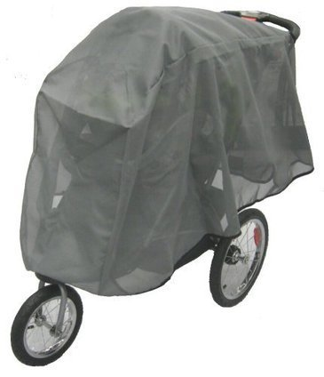Sashas Peekaboo Friendly Rain and Wind Cover for BOB Revolution Flex Duallie /& Strides Double Jogging Stroller