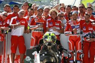 Iannone, Dovizioso on brink of Ducati history | Ductalk Ducati News | Scoop.it