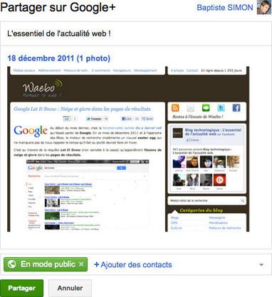 Gmail : Partage de pièces jointes sur Google Plus – Waebo ... | googleplus | Scoop.it
