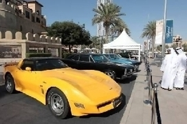Vintage cars drive fans wild at Dubai's Emirates Classic Car Festival - The National | RichDubai | Scoop.it
