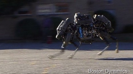 WildCat : le nouveau robot à quatre pattes de Boston Dynamics (vidéo) | Remembering tomorrow | Scoop.it