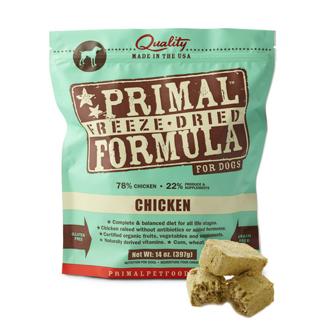Primal Canine Dried Freeze Chicken Formula 5.5/14oz @ PetCare Singapore | Woocommerce | Scoop.it