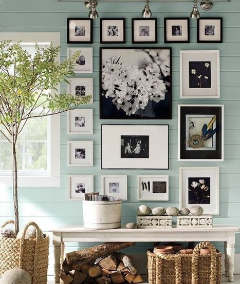 Tips for Creating a Cohesive Gallery Wall - Home Decorating Trends | Cultural News, Trends & Opinions | Scoop.it