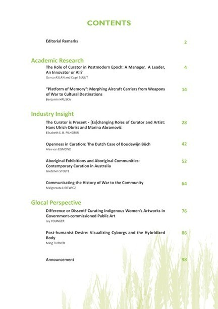IJCCI volume 1, issue 3, July 2014 - IJCCI - International Journal of Cultural and Creative Industries | Facebook | CurationEd | Scoop.it