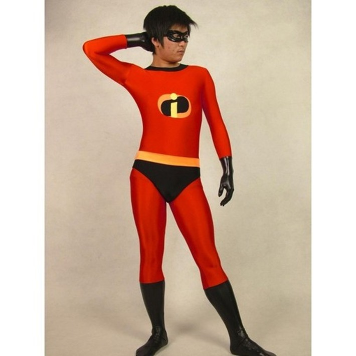 Red Lycra Spandex Animation Agent Zentai Suit - Zentai Store US | Machinimania | Scoop.it