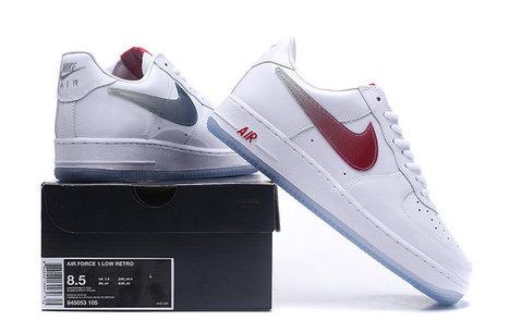 Nike Air Force 1 Low Retro White University Red -  72.00 c98de240f056a