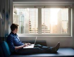 Travail : être sans bureau fixe, la nouvelle tendance ? | Teletravail et coworking | Scoop.it