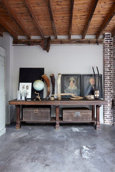 Raw and real interior design - Deco vintage industriel ...