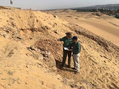 Descubierto en Egipto muro del Imperio Antiguo que podría revelar la presencia de tumbas de hace más de 4.000 años | Egiptología | Scoop.it