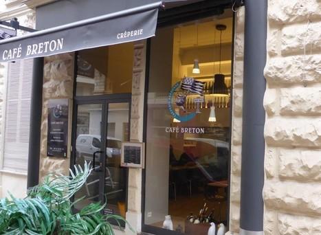 Le Café Breton, crêperie Nice - délices bretonnants | Restaurants | Voyages et Gastronomie depuis la Bretagne vers d'autres terroirs | Scoop.it