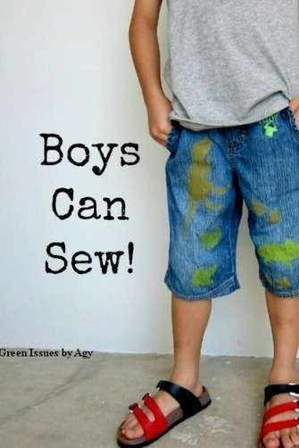 Easy Sewing Project: Refashion Clothes {Upcycling Ideas} | Easy Sewing Projects for Kids | Scoop.it