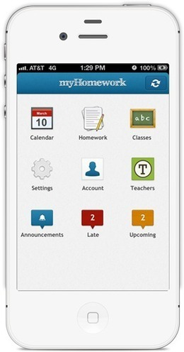 myHomework Student Planner | coursematters.org | Scoop.it