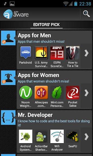 AppAware: Un réseau social pour trouver les meilleures applications Android | Time to Learn | Scoop.it