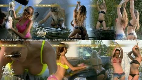 Vidéo : Le car wash de Vanessa, Aurélie et Capucine dans Les Anges 5 | Radio Planète-Eléa | Scoop.it