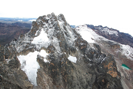 Mount #Kenya losing its glaciers as #climate change bites #rivers #drought | Messenger for mother Earth | Scoop.it
