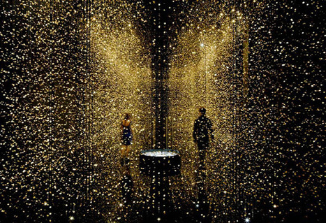 Inspired by the Big Bang, a Suspended Art Installation Reimagines Light, Space and Time | Chasing the Future | Scoop.it