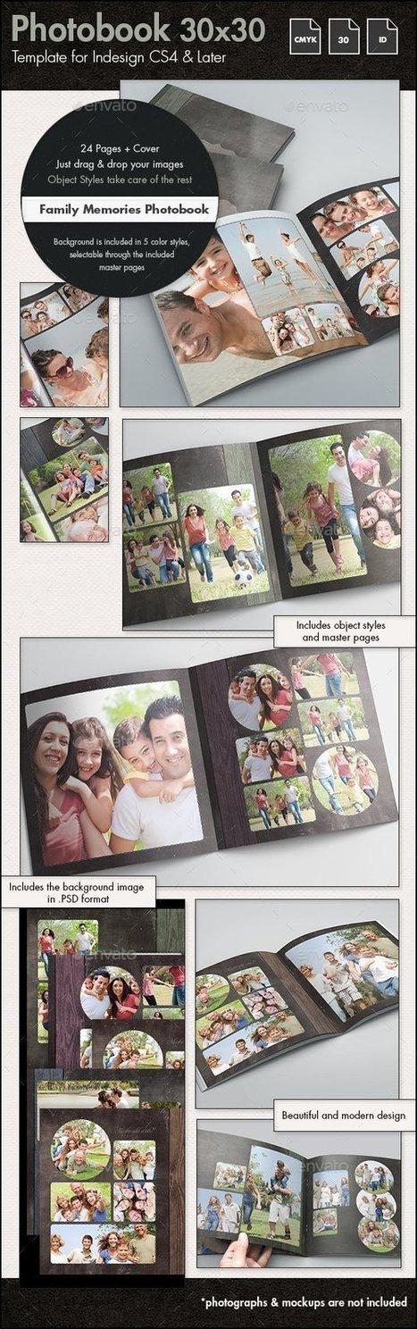 Photobook Family Memories Album Template - 30x30cm | About Design | Scoop.it