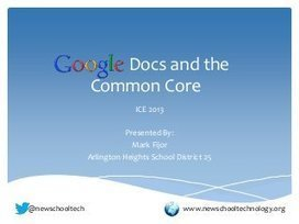 Google Docs and The Common Core | Common Core Online | Common Core and the Library | Scoop.it