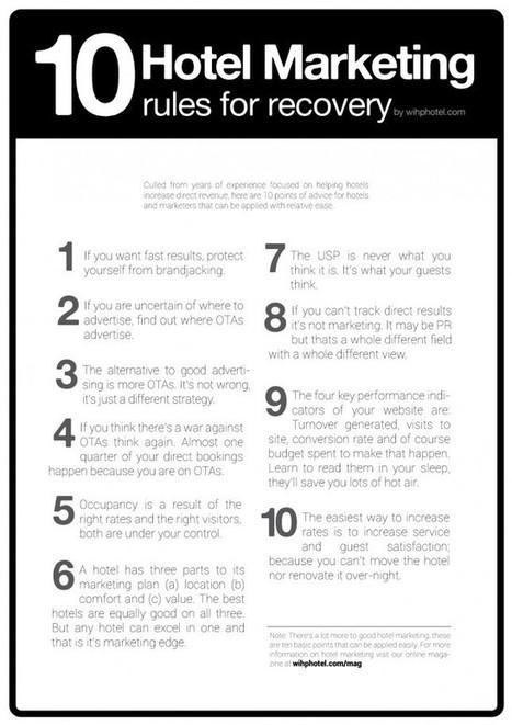 [브랜드 마케팅]10 Hotel Marketing rules for recovery and direct bookings | WIHP Magazine | BRAND marketing Curation | Scoop.it