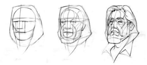 comment apprendre a dessiner un visage appre. Black Bedroom Furniture Sets. Home Design Ideas