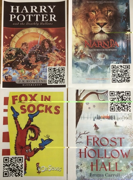 Writing for a purpose with the iPad and QR Codes- March 2014 Blog Post | new approaches to teaching | Scoop.it