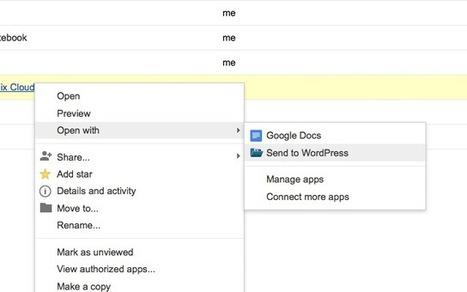 This Chrome Extension Exports Google Docs to WordPress Posts | TEFL & Ed Tech | Scoop.it