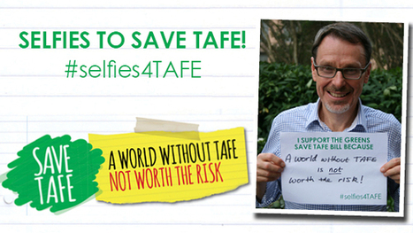 Greens Save TAFE bill campaign update April 2014 | John Kaye MLC | Save TAFE | Scoop.it