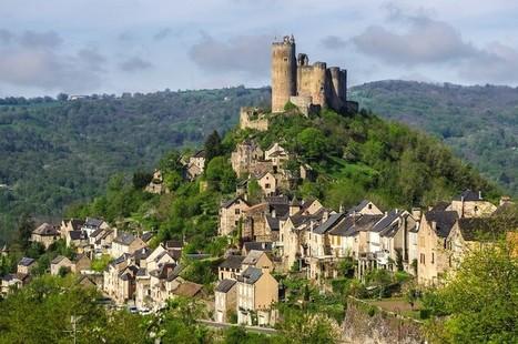 Le village perché de Najac - Carnets de Rando | Mon moleskine | Scoop.it