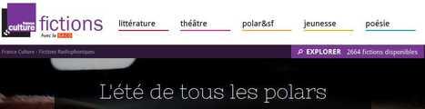 Cet été France Culture lance un site dédié à la fiction radiophonique | Veille - développement radio | Scoop.it