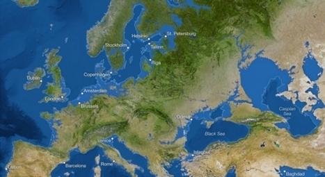 Mapa del mundo si continúa el calentamiento global. | Agua | Scoop.it