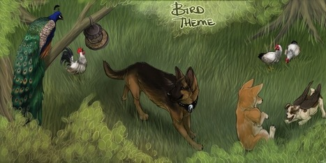 Image of: Talking Catch New Item At Alacrity Sim Virtual Dog Game Dog Breeds Bird Theme For July Catch New Item At Alacrity