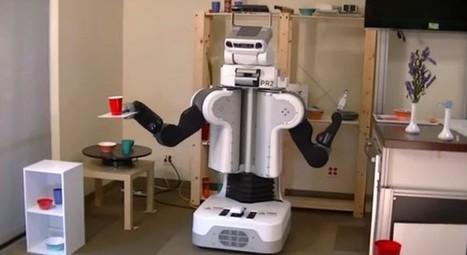 Comment un robot peut bouger un objet sur un plateau sans le faire tomber | Des robots et des drones | Scoop.it