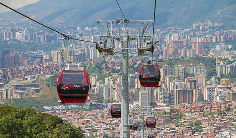 """Gondolas & Urban Transit: Planners Look to the Sky to Solve for """"Last Mile"""" 