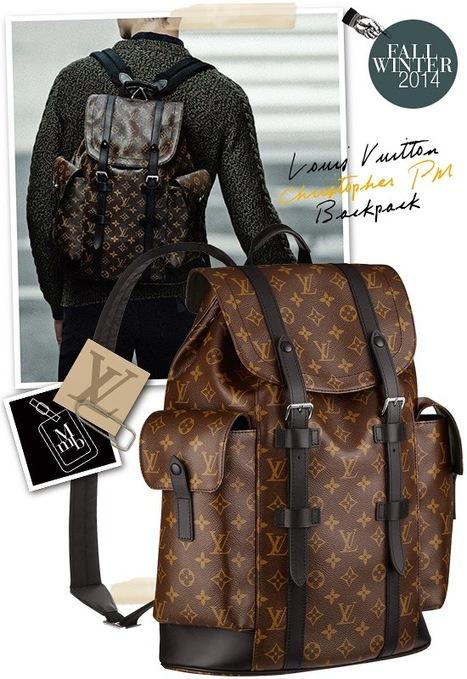 2744de87da79 Louis Vuitton Christopher PM Monogram Macassar Canvas Men s Backpack M43735