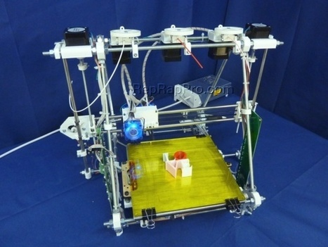 RepRapPro launches open-source Tricolour Mendel 3D printer   Digital Design and Manufacturing   Scoop.it