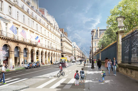 A Paris, Anne Hidalgo intensifie sa guerre contre la voiture | Revue de web de Mon Cher Vélo | Scoop.it