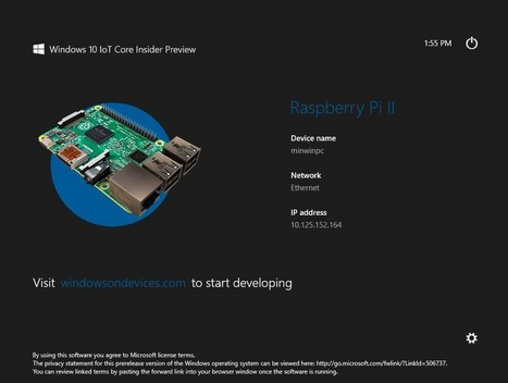 Windows 10 IoT Preview for Raspberry Pi 2 and MinnowBoard Max | Embedded Systems News | Scoop.it