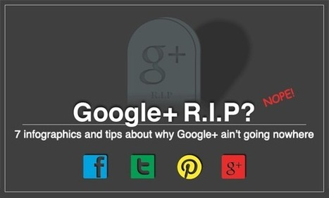 7 Super Useful Infographics About Google+ and a Lesson From Each | Unbounce | Social Media & E-learning | Scoop.it