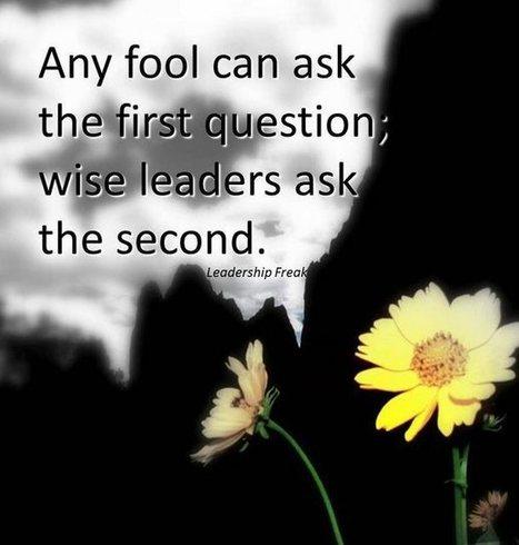 One Simple Habit that Elevates Leaders | eLEADERship | LEADERship | school improvement process | Scoop.it