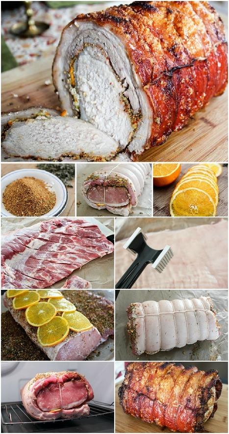 How to Make Porchetta at home | Casolare Re Sole | Scoop.it
