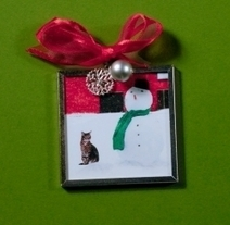 Favorite Cat Christmas Ornaments   Christmas Cat Ornaments and Cards   Scoop.it
