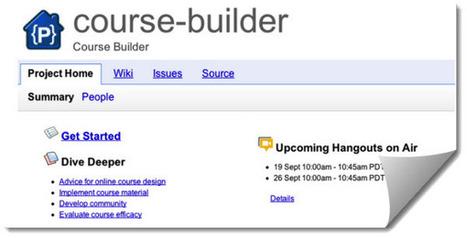 Google presenta Course Builder, plataforma de código abierto para crear cursos online | Learning about Technology and Education | Scoop.it