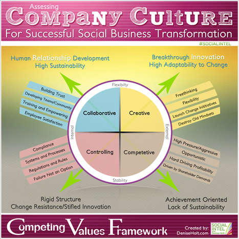 Assessing Company Culture for Successful Social Business Transformation [INFOGRAPHIC]   Social Media Today   Organisation Development   Scoop.it