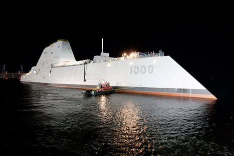 The Navy's Newest Destroyer Is a Drone | singularity+ | Scoop.it