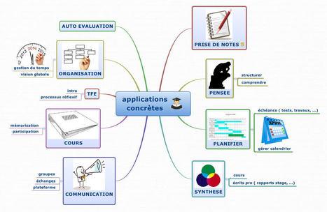 Cartes mentales dans l'enseignement : quelles applications ? | pedagogie, TICE handicap, FLE, EFL | Scoop.it