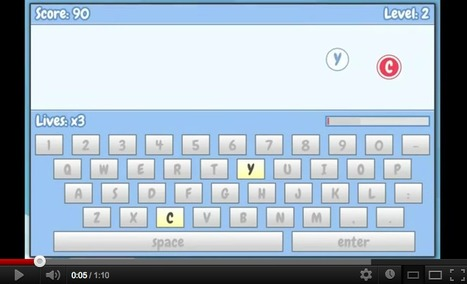 Letter Bubbles : The Typing Game! | TELT | Scoop.it